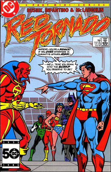 Red Tornado (1985) 1-A by DC