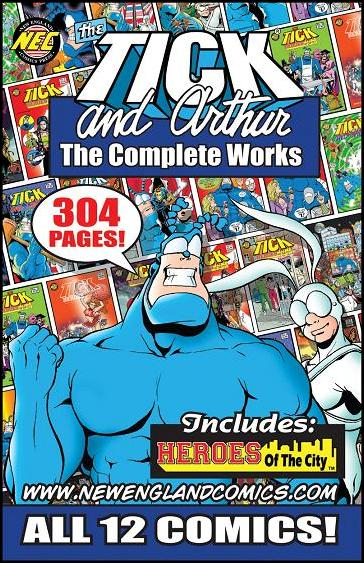 Tick and Arthur - The Complete Works nn-A by New England Comics Press (NEC / NECP)