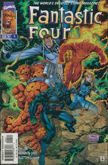 Fantastic Four (1996) 4-A by Marvel