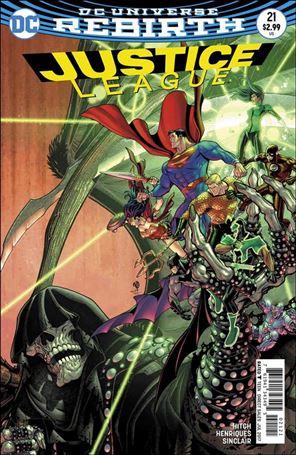 Justice League (2016) 21-B
