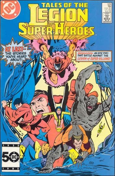 Tales of the Legion of Super-Heroes 326-A by DC
