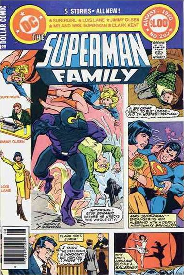 Superman Family 202-A by DC