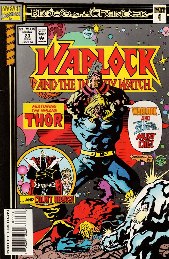 Warlock and the Infinity Watch 23-A by Marvel