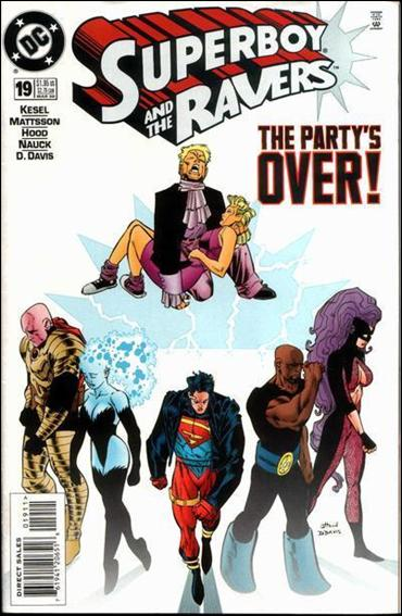 Superboy & The Ravers 19-A by DC
