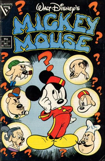 Walt Disney's Mickey Mouse 253-A by Dell