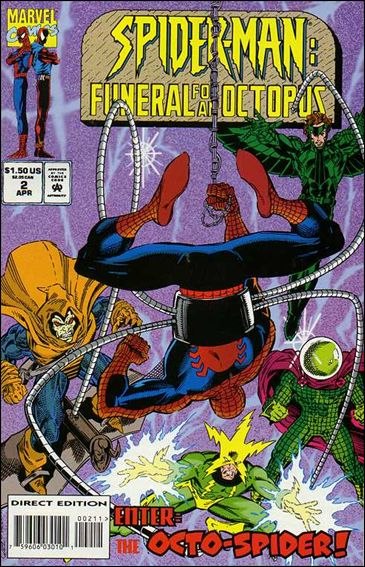 Spider-Man: Funeral for an Octopus 2-A by Marvel