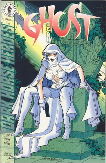 Ghost (1995) 8-A by Dark Horse