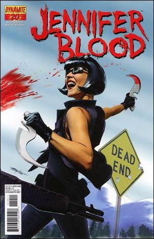 Jennifer Blood 20-A by Dynamite Entertainment