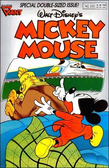 Walt Disney's Mickey Mouse 255-A by Dell