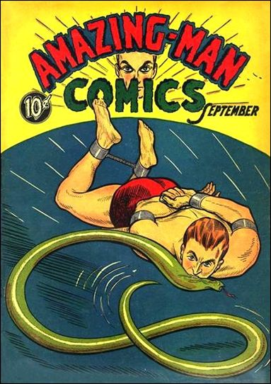 Amazing Man Comics 5-A by Centaur Publications Inc.