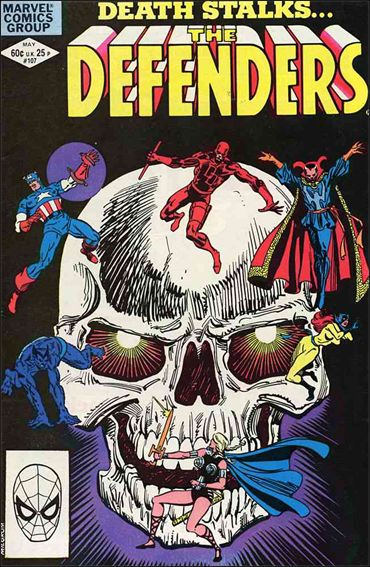 Defenders (1972) 107-A by Marvel