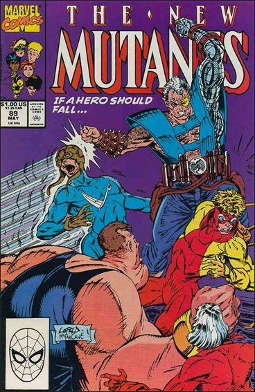 New Mutants (1983) 89-A by Marvel