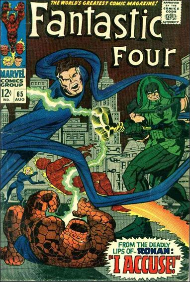 Fantastic Four (1961) 65-A by Marvel
