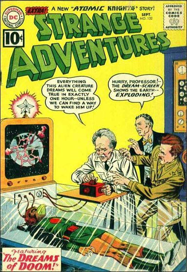 Strange Adventures (1950) 132-A by DC