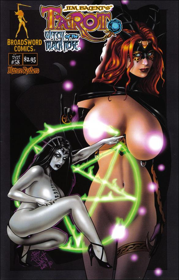Tarot: Witch of the Black Rose 58-B by BroadSword Comics