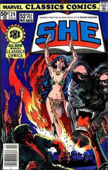 Marvel Classics Comics 24-A by Marvel