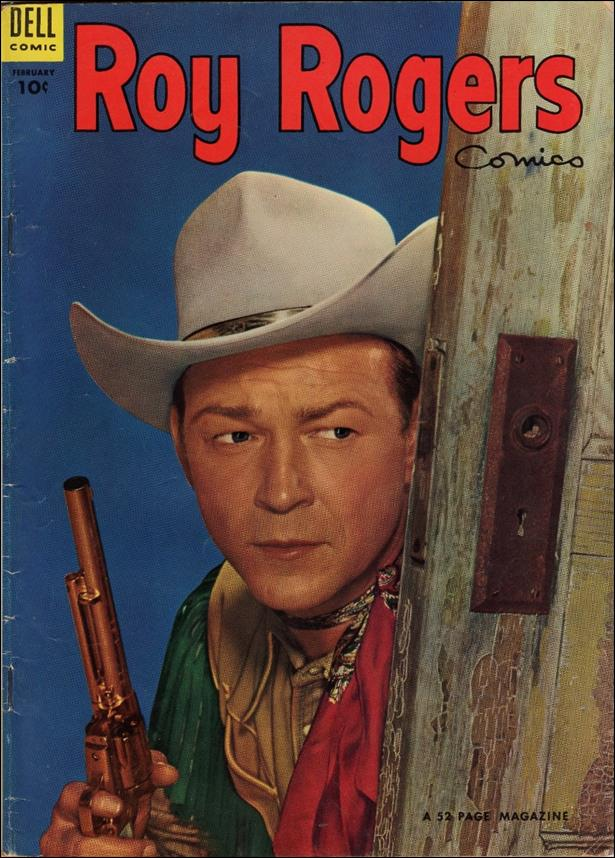 Roy Rogers Comics 74-A by Dell