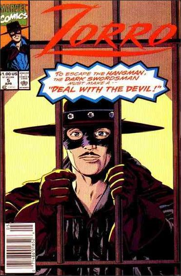Zorro (1990) 5-A by Marvel