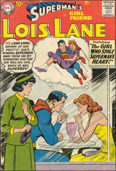 Superman's Girl Friend Lois Lane 7-A by DC