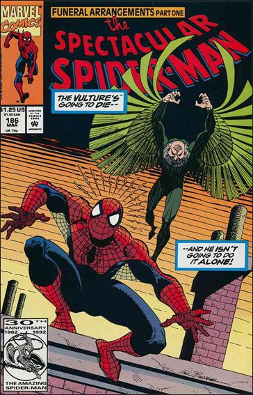 Spectacular Spider-Man (1976) 186-A by Marvel