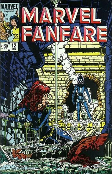 Marvel Fanfare (1982) 12-A by Marvel
