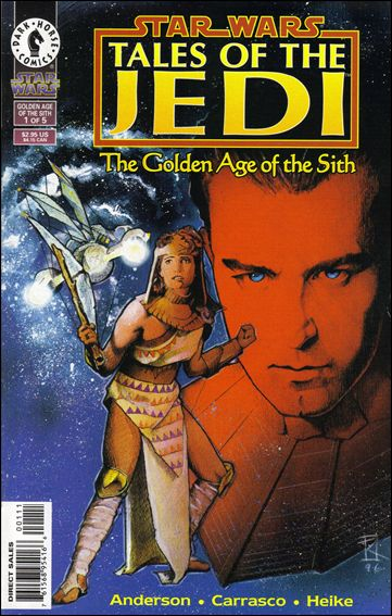 Star Wars: Tales of the Jedi - The Golden Age of the Sith 1-A by Dark Horse
