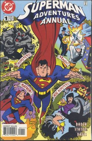 Superman Adventures Annual 1-A