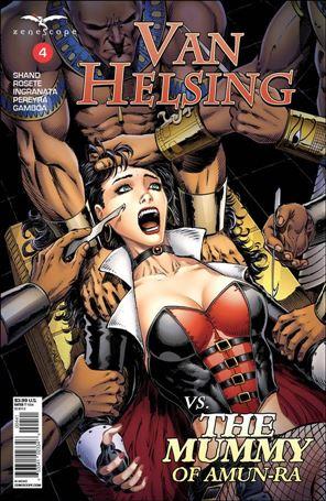 Van Helsing vs. the Mummy of Amun-Ra 4-D