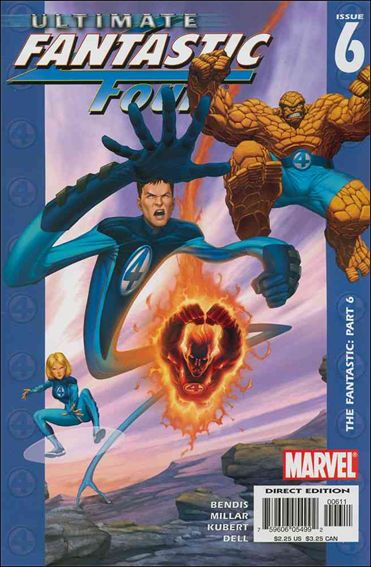 Ultimate Fantastic Four 6-A by Marvel