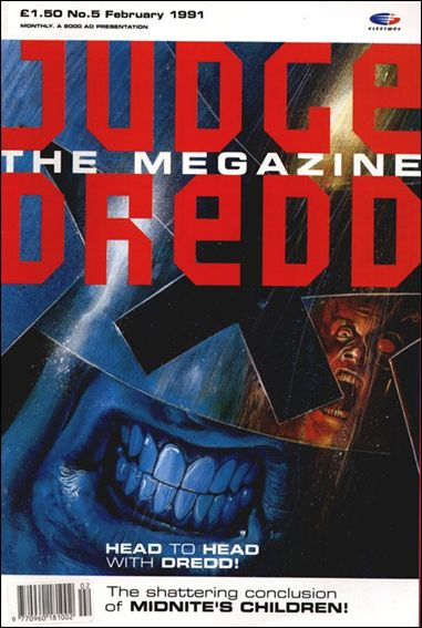 Judge Dredd Megazine (1990) 5-A by Fleetway