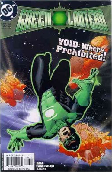 Green Lantern (1990) 166-A by DC