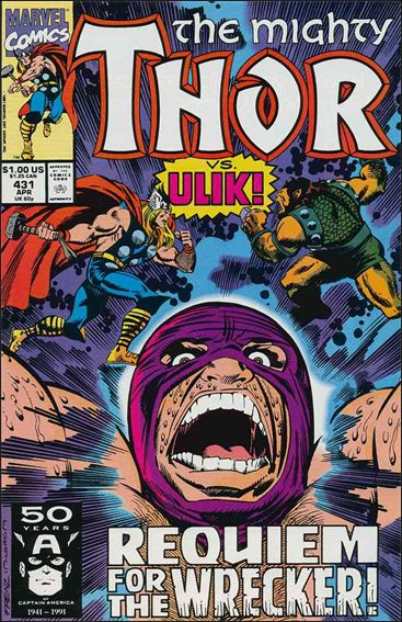 Thor (1966) 431-A by Marvel