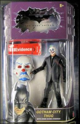 Dark Knight: Movie Masters  Gotham City Thug by Mattel