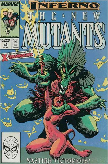 New Mutants (1983) 72-A by Marvel