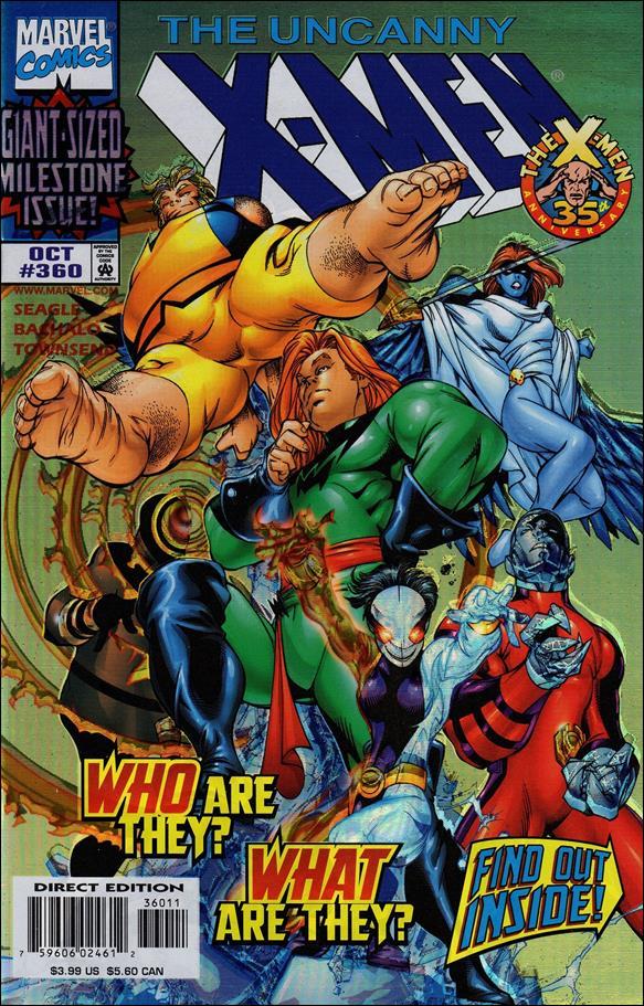 Uncanny X-Men (1981) 360-A by Marvel