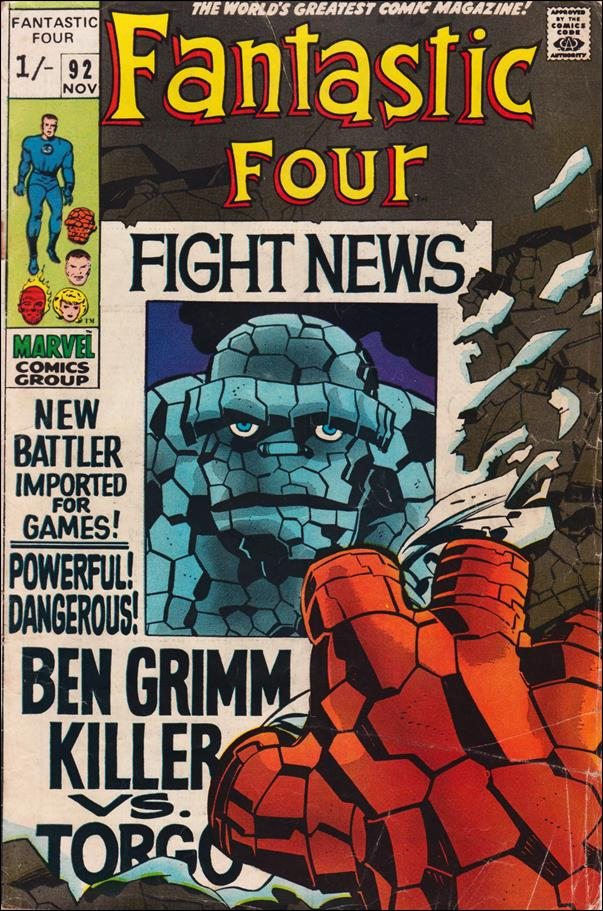 Fantastic Four (1961) 92-B by Marvel