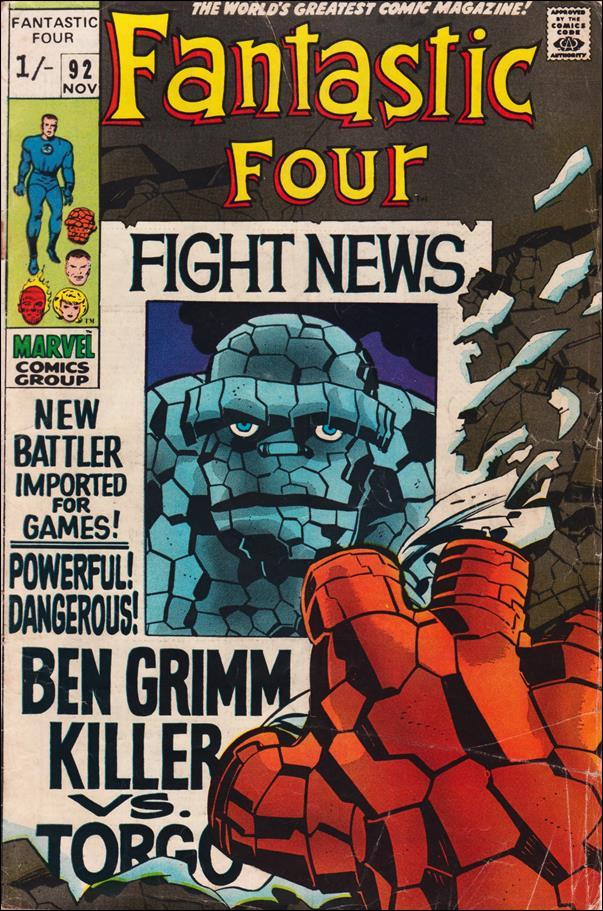 Fantastic Four (1961) 92-B by Marvel
