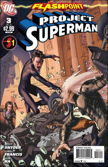 Flashpoint: Project Superman 3-A by DC