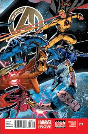 New Avengers (2013) 19-A