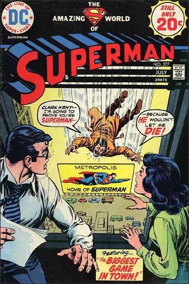 Superman (1939) 277-A by DC