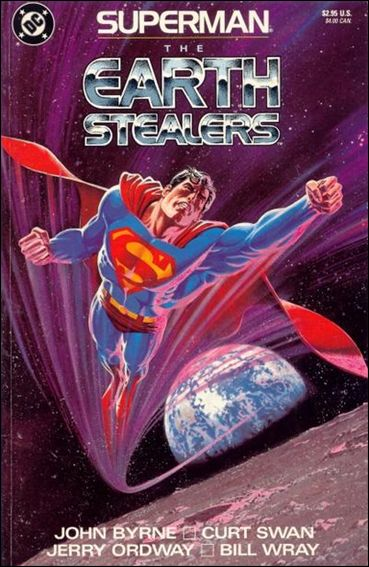 Superman: The Earth Stealers 1-A by DC