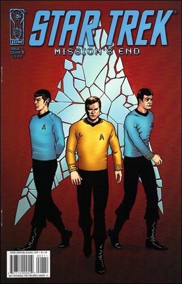 Star Trek: Mission's End 1-B by IDW