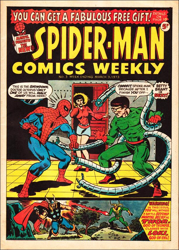 Spider-Man: Comics Weekly (UK) 3-A by Marvel UK