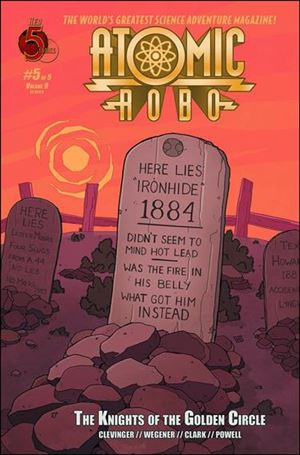 Atomic Robo and The Knights of the Golden Circle 5-A