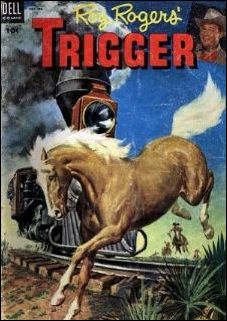 Roy Rogers' Trigger 11-A by Dell