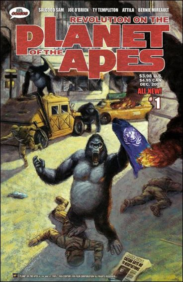 Revolution on the Planet of the Apes 1-A by Mr. Comics