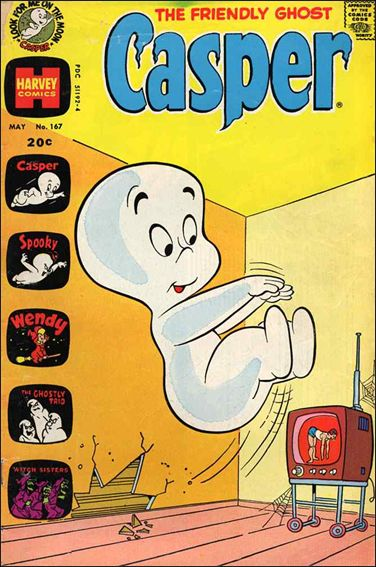 Friendly Ghost, Casper 167-A by Harvey