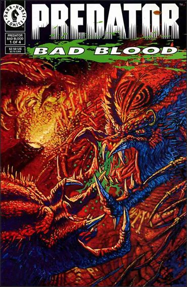 Predator: Bad Blood 1-A by Dark Horse