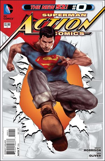 Action Comics (2011) 0-A by DC