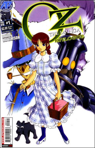 Oz: The Manga: Epilogue 1-A by Antarctic Press